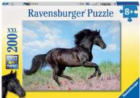 Pussel : Beautiful Horse 200p - ravensburger puslespil heste 012803