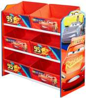 Barnmöbler : Disney Cars Kids Storage Unit by HelloHome - Disney Cars Børnemøbler 663172