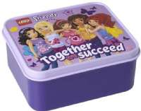 Lego Storage : LEGO Friends, Lunchbox, Lavendel - Lego Friends Madkasse 023423