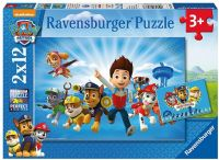 Pussel : Paw patrol puslespil 2x12 - Ravensburger puzzle 075867