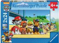 Pussel : Paw patrol puslespil 2x24 - Ravensburger puzzle 090648