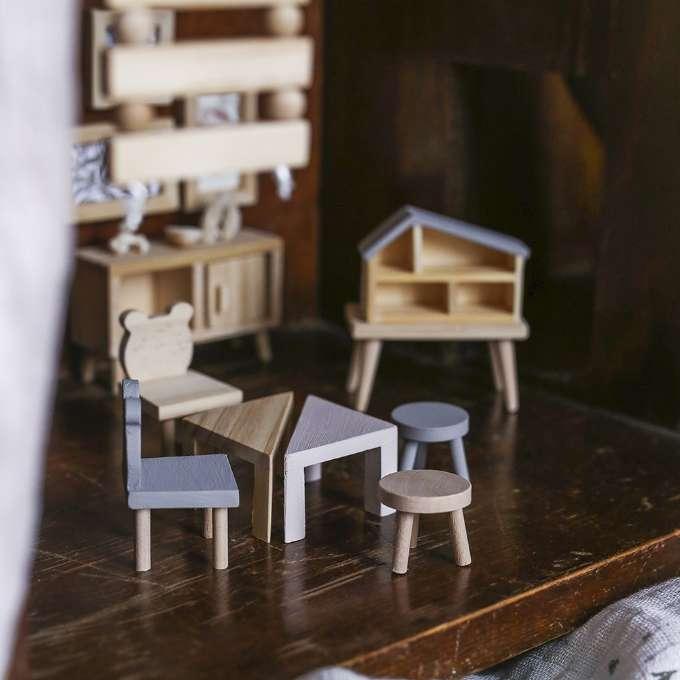 Lundby DIY Bord+Stolar Lundby dukkehus 609064 Shop