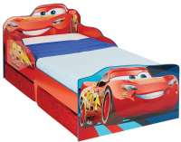 Worlds Apart : Disney Cars Toddler Bed with underbed storage by HelloHome - Disney Cars Børnemøbler 663561