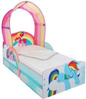 Barnmöbler : My Little Pony Toddler Bed with underbed storage by HelloHome - My Little Pony Børnemøbler 663608