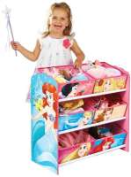 Worlds Apart : Disney Princess Kids Storage Unit by HelloHome - Disney Princess Børnemøbel 663615